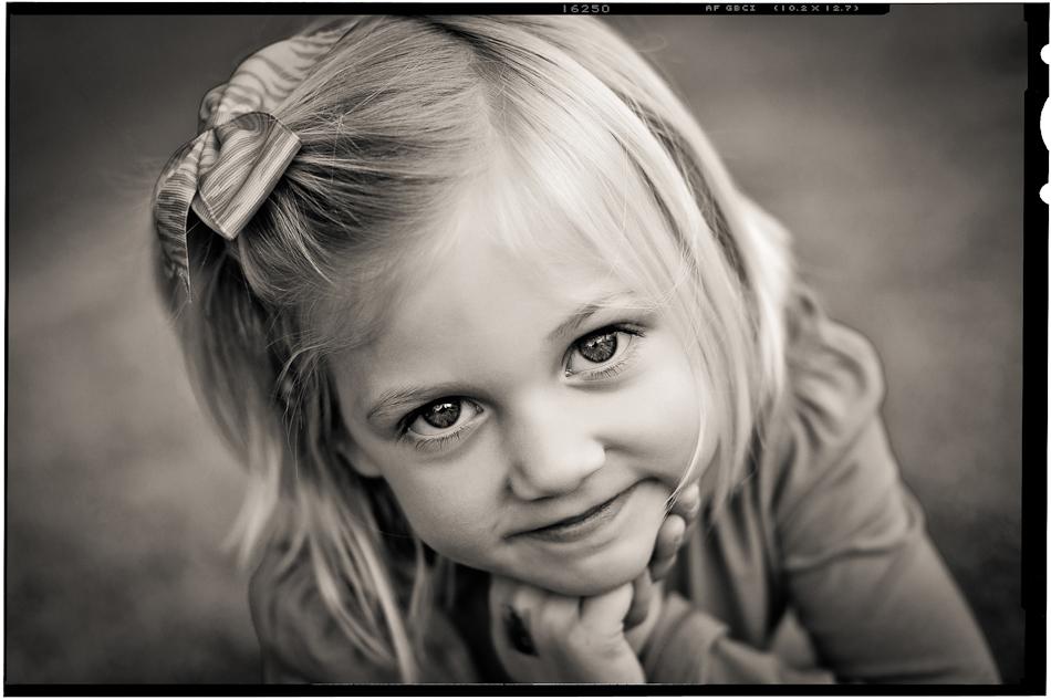 B&W Kids photos orange county child photographer