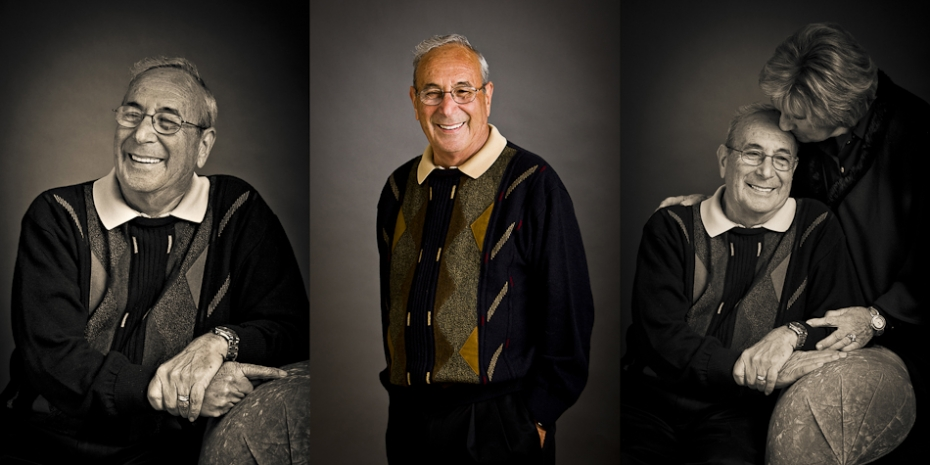 Senior Portraits of Grandparents