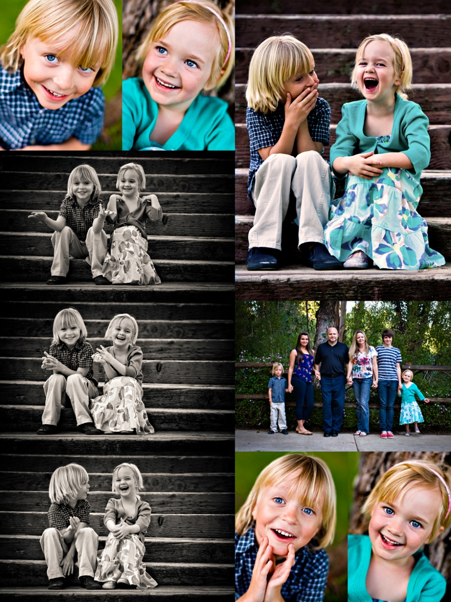 orange county fun family photographer for children