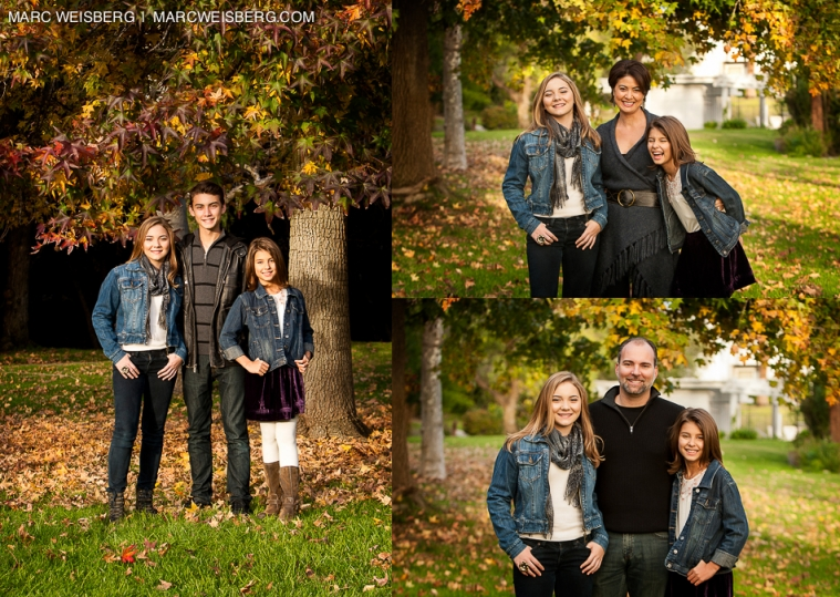 Outdoor Family Portrait Ideas For Fall