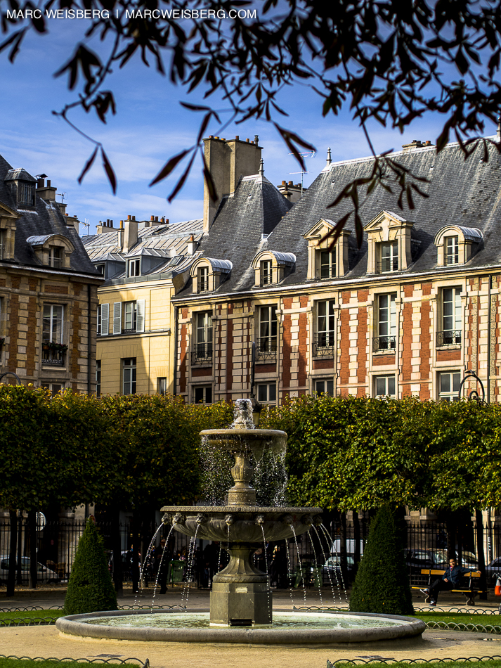place de vosges paris travel photogapher