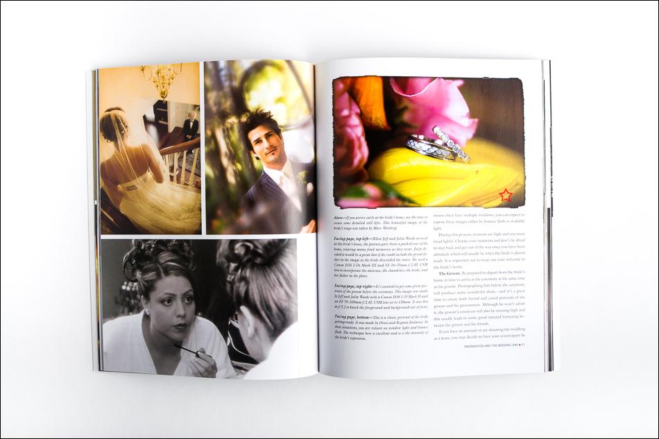 orange county wedding album design pictures