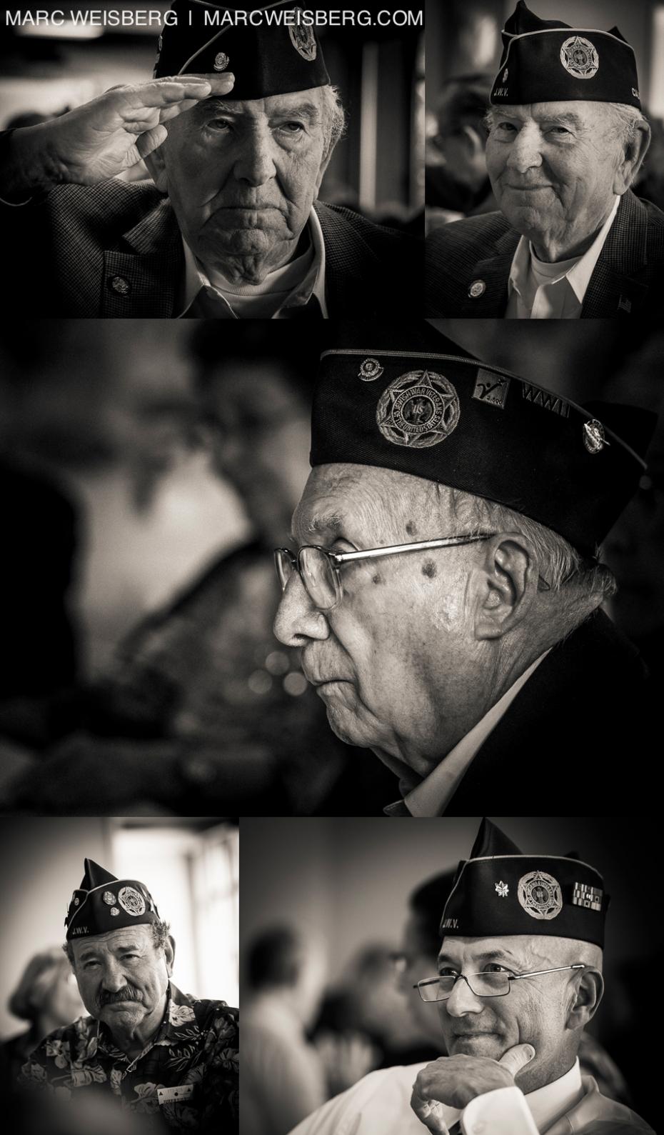 historic black and white portraits of jewish world ward II veterans