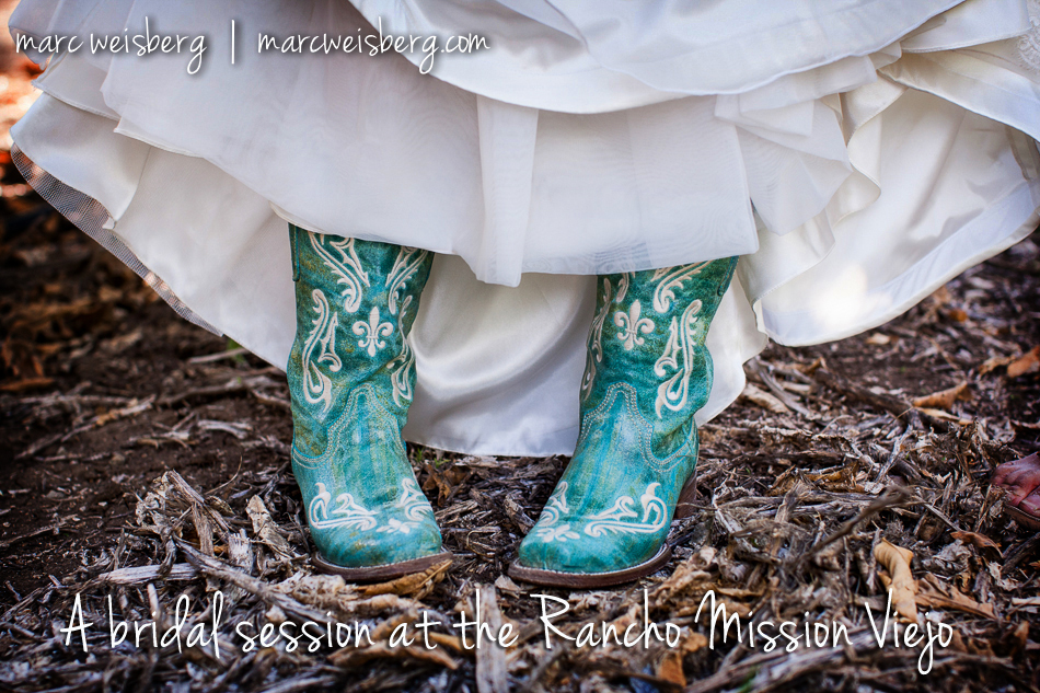 bridal session on the ranch � rancho mission viejo wedding