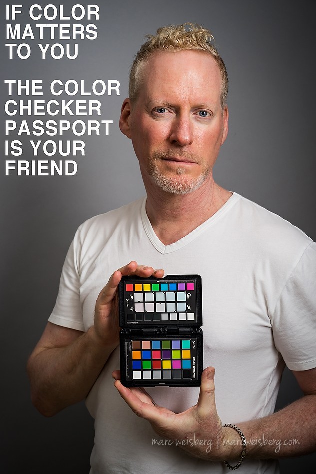 The Color Checker Passport Is Your Friend