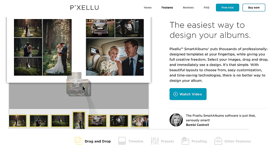 SmartAlbums - Album Design Software For Photographers