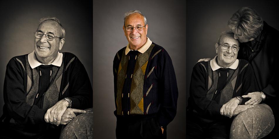 Senior Portraits of Grandparents