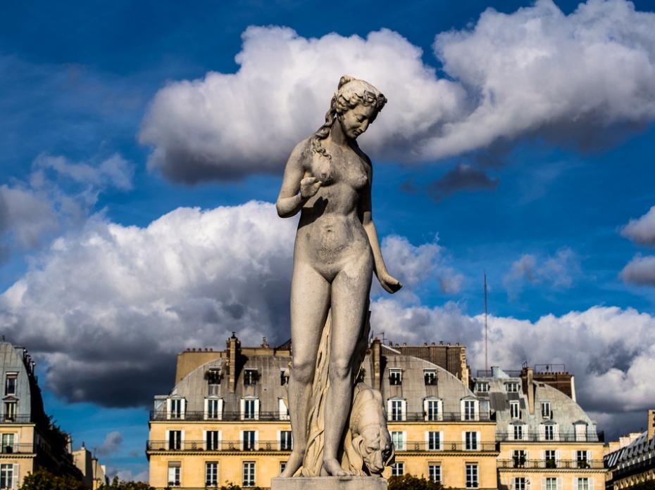 Paris travel photography Tulleries, Louvre