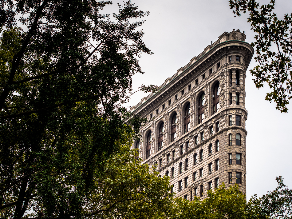 Flat Iron Building, New York City, Madison Square Park