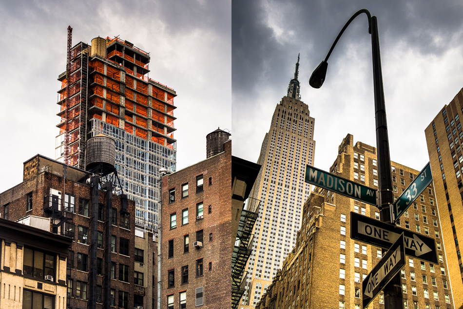 The Empire state building, Madison and 33rd street pictures