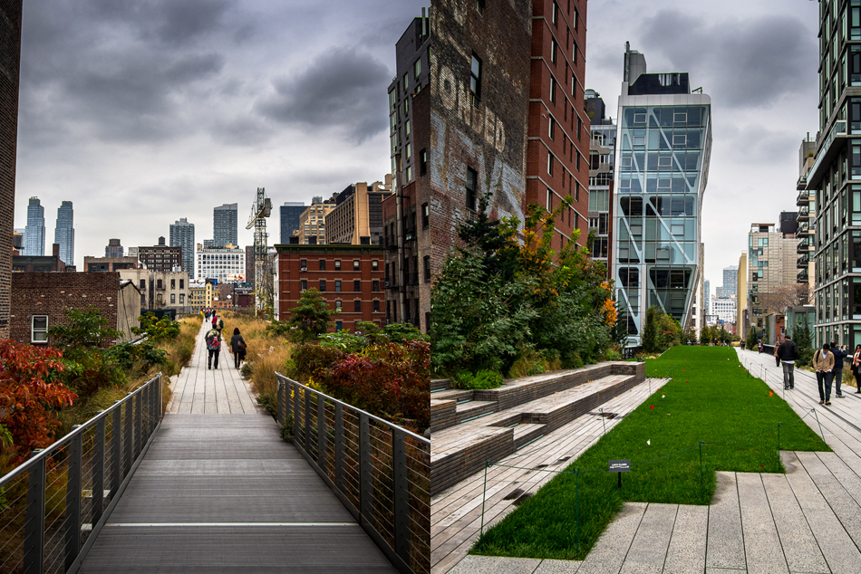 Walking The High Line, New York City