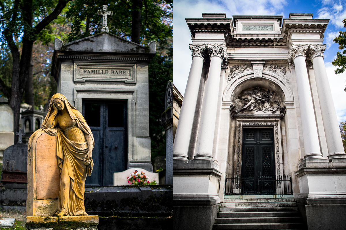 Pere Lachaisse, Paris cemetery pictures