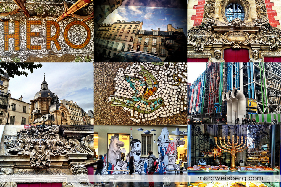 iPhone 4s photography Paris montage
