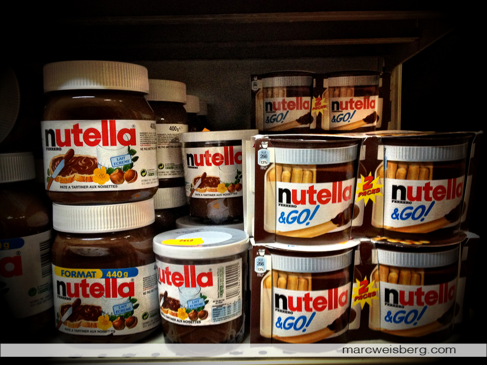 Nutella, iPhoneography