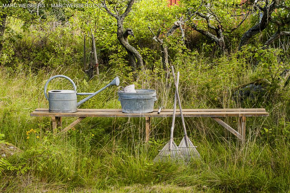 sweden gardening tools travel photogapher