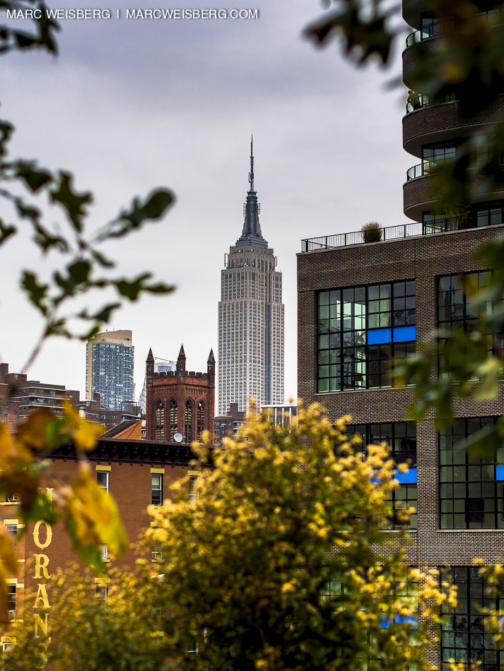 new york city empire state building highline drive pictures