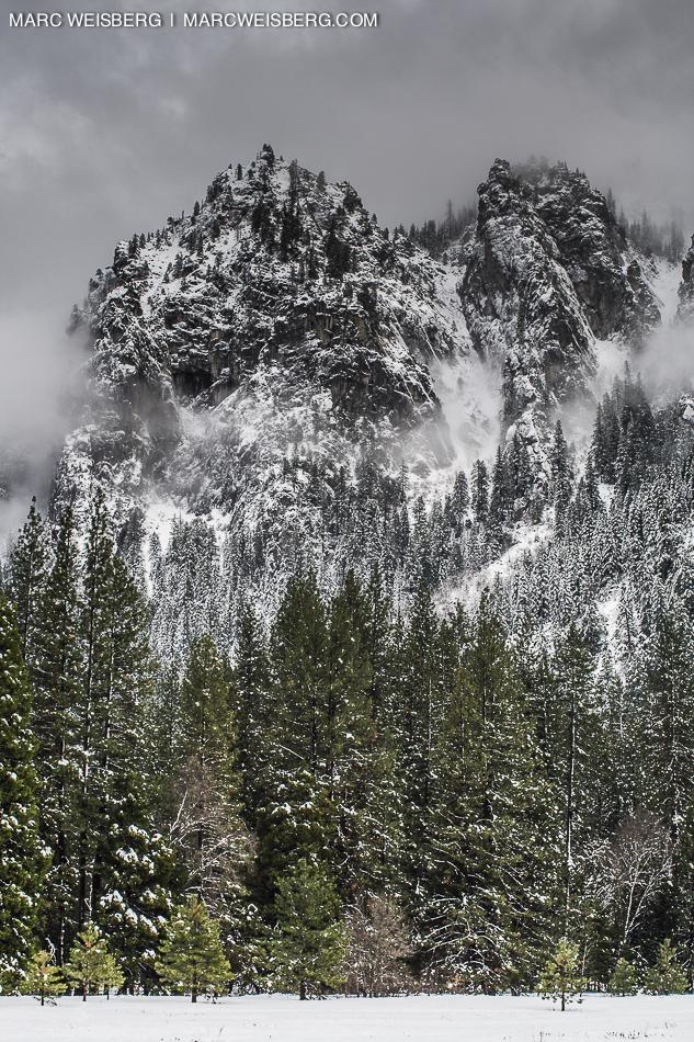 yosemite snow travel photography