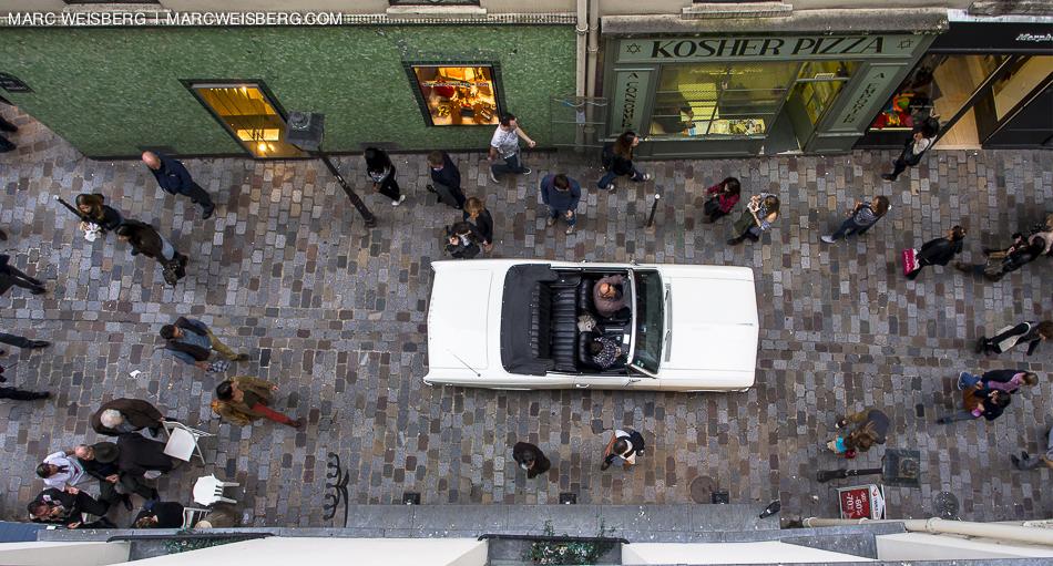 paris, france, rue des rosiers travel photography