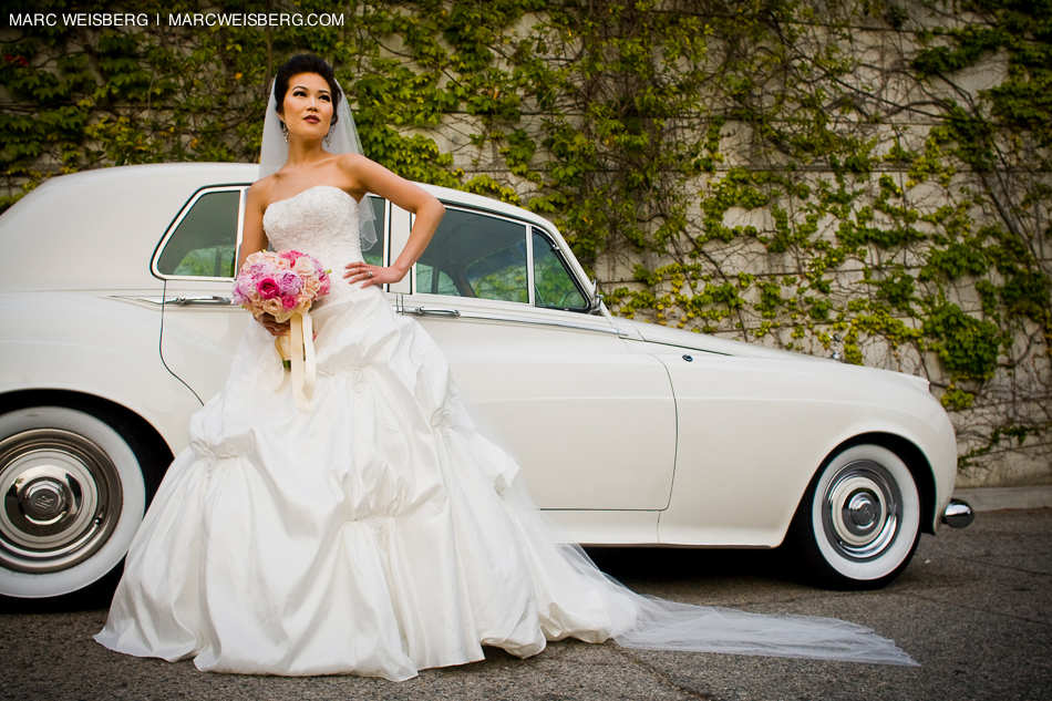 UCLA los angeles wedding photographer bridal portrait pictures