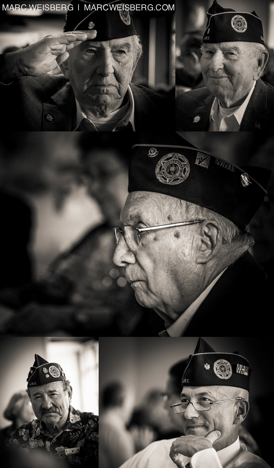 historic black and white portraits of jewish world ward II veterans