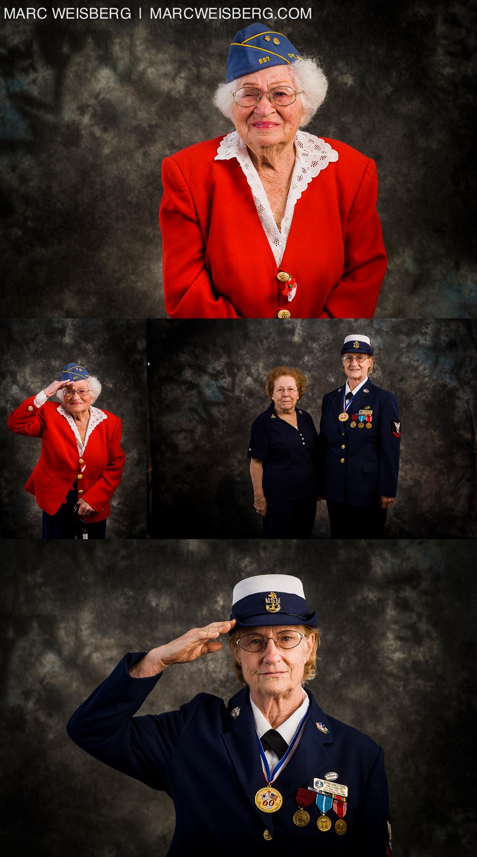 studio photographs oldest living female jewish wwII veteran