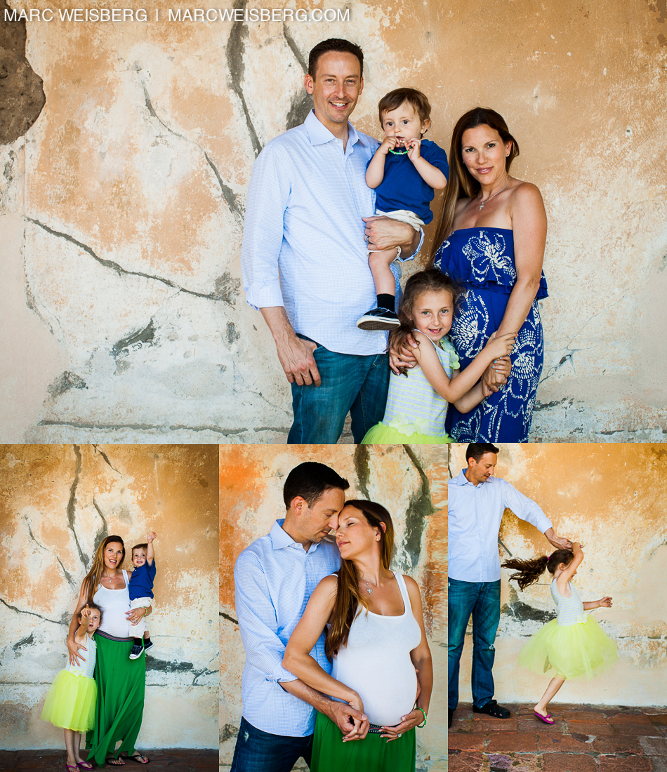 Family Portraits at the Mission San Juan Capistrano