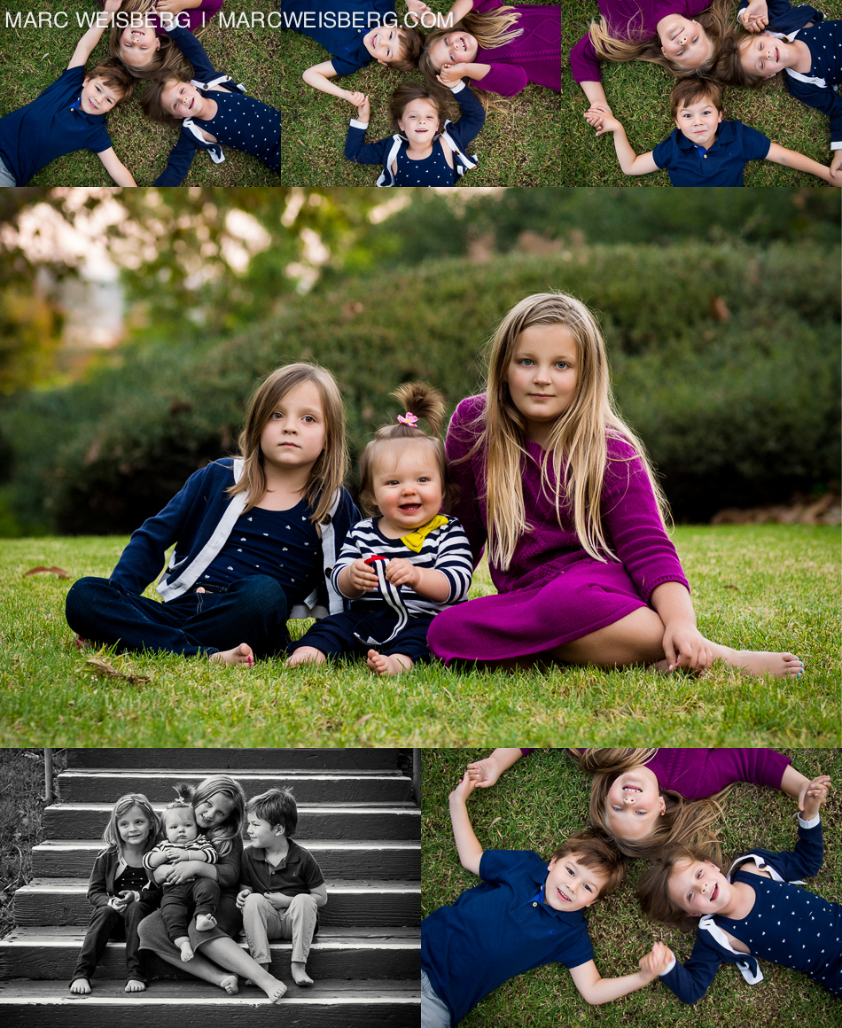irvine family portraits in the park by marc weisberg