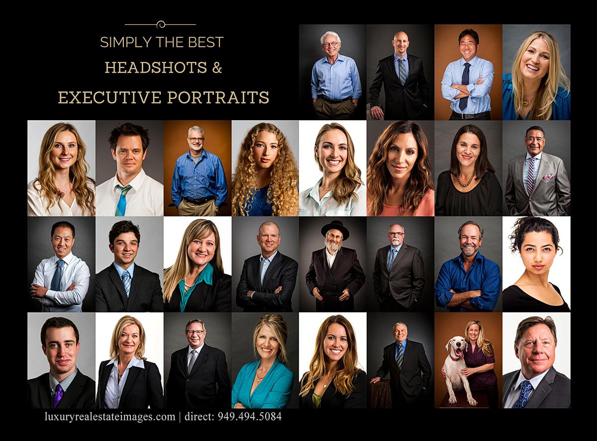 Orange County Executive Portraits and Headshots