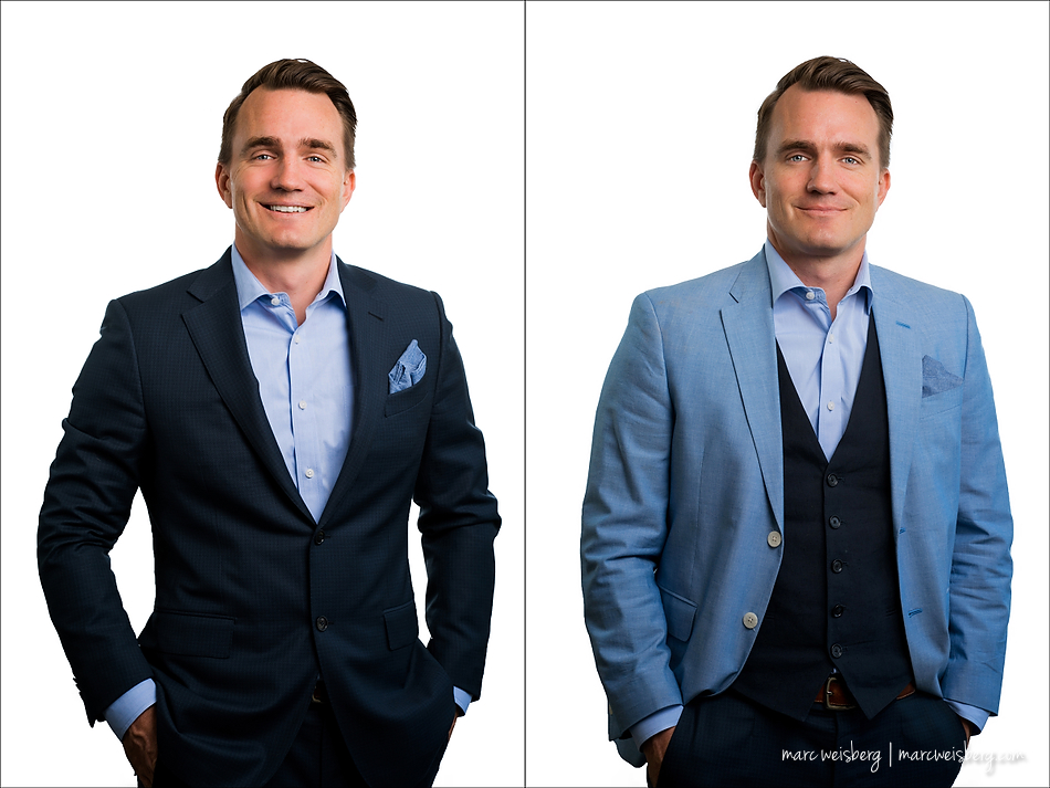 executive portraits luxury real estate brokers