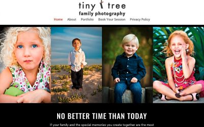 INTRODUCING TINY TREE CHILDREN & FAMILY PHOTOGRAPHY!