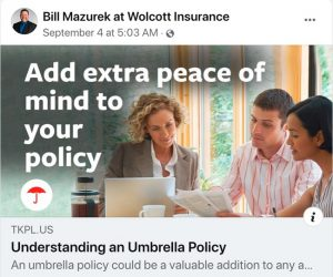 Bill Mazurek Property & Casualty Insurance Specialist